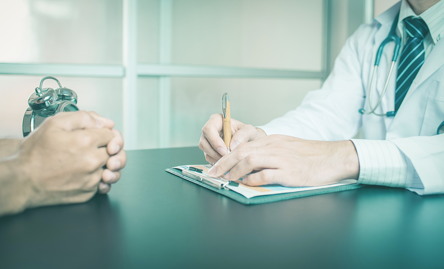 Obtaining a medical certificate for work