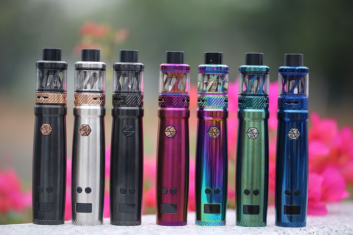 variety of vapes